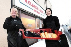 Heidi Mccullagh and Beverley Hartas of R Clarke And Sons